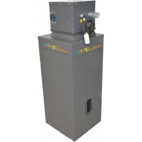 Silo intermédiaire 100 Ltr pour aspirateur Cyclone