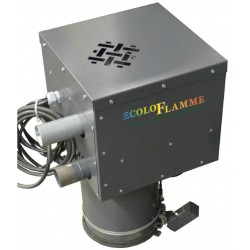 Système pneumatique d'aspiration pour les chaudières et poêles à granulés