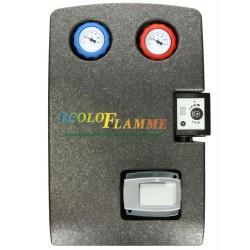 Groupe de raccordement chauffage, 1 circuit mélangé avec régulation intégré