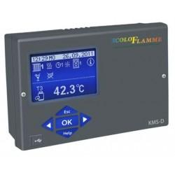 Régulation de chauffage 1 circuit mélangé avec sonde extérieur