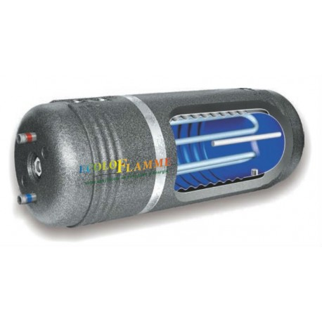 Préparateur ECS mixte chaudière/solaire