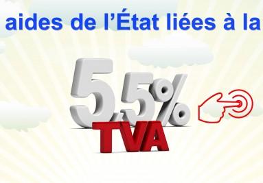 T.V.A à taux réduit