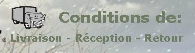 Conditions livraison